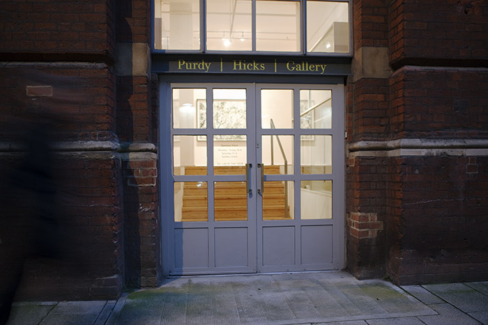 Purdy Hicks Gallery, London 2014